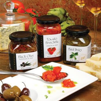 Black Olive Tapenade and Dip