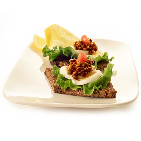 95E Elki Black Olive Tapenade on Toast