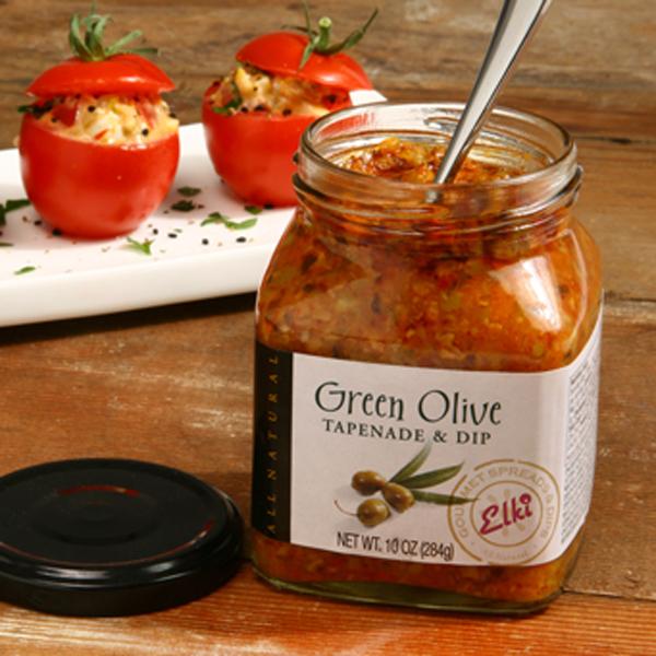Elki 96E Green Olive Tapenade Stuffed Tomato