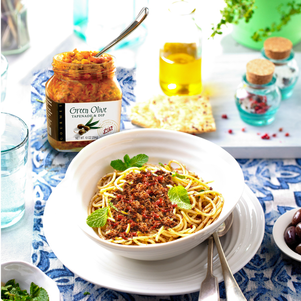 96E Olive Tapenade with Pasta