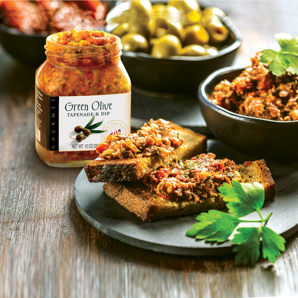 96E Olive Tapenade with toast