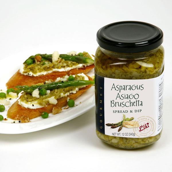 Elki 93E Asparagus Asiago Bruschetta