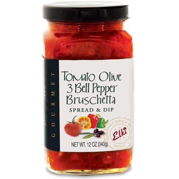 Elki 101E Tomato Olive 3 Bell Pepper Bruschetta