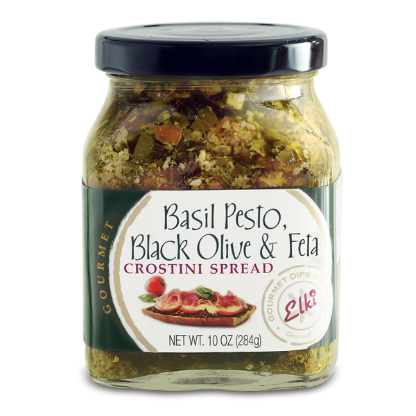 Elki Basil Pesto, Black Olive & Feta