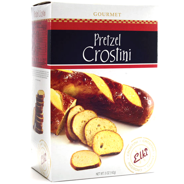 Elki Pretzel Crostini