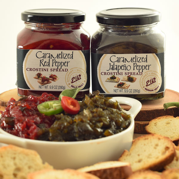 Elki 309E Caramelized Jalapeno Pepper Spread