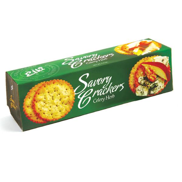 Celery Herb Crackers