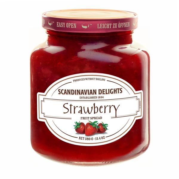 Elki Strawberry Scandinavian preserve, 21E