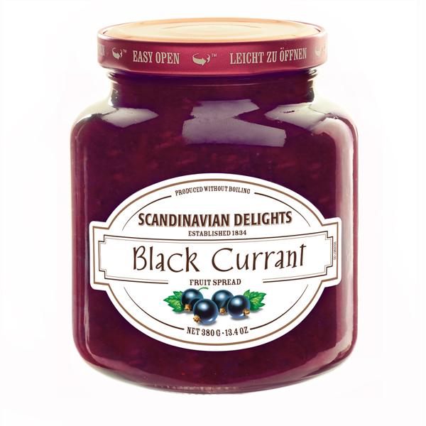Elki Black Currant, Scandinavian preserve, 28E