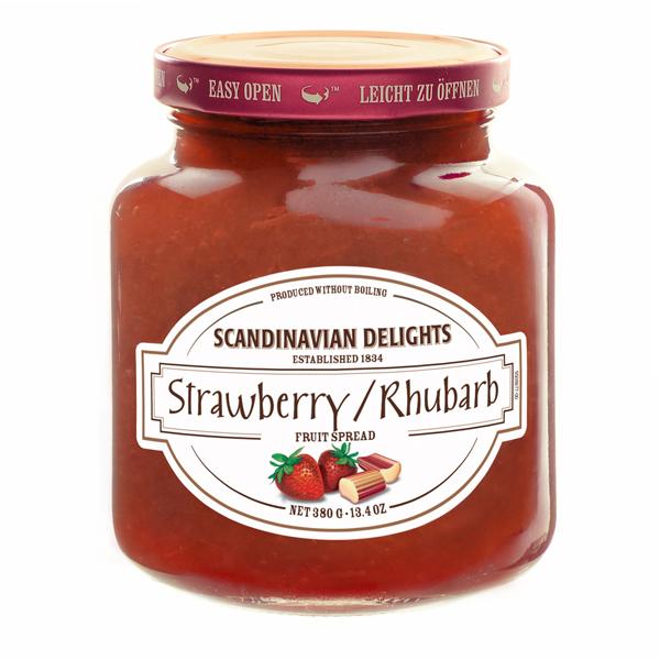 Elki Strawberry/Rhubarb Scandinavian preserve, 30E