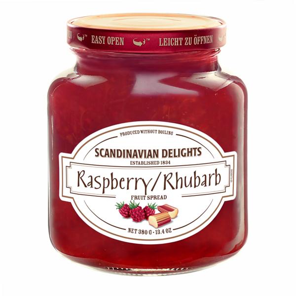 Elki Raspberry/Rhubarb Scandinavian preserve, 34E